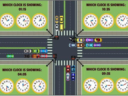 Play Traffic Control Time Now!