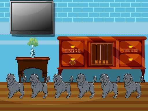 Play Blue Villa Escape Now!