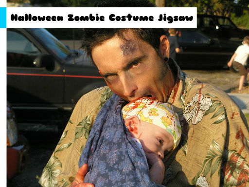 Play Halloween Zombie Costume Jigsaw Now!