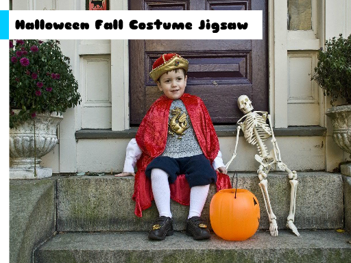 Play Halloween Fall Costume Jigsaw Now!