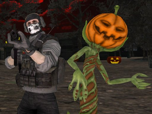 Play Halloween Multiplayer Shooter Now!