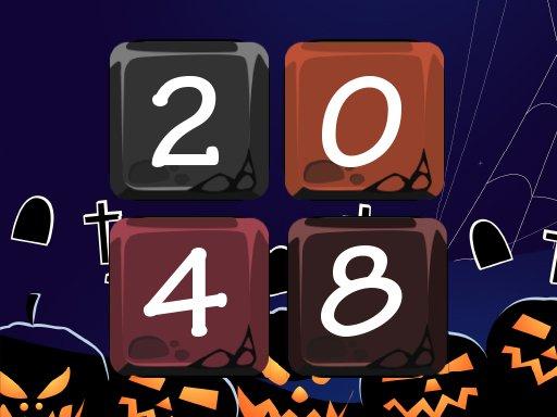 Play Halloween 2048 Now!