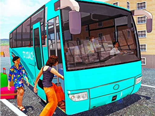 Play Off Road bus Transport Driver: Tourist Coach Sim Now!