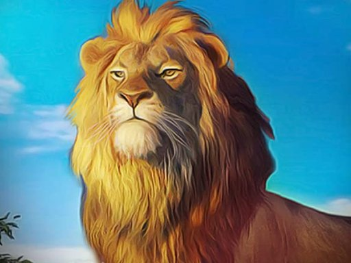 Play Angry Lion Sim City Attack Now!
