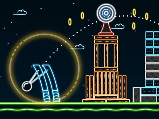 Play Neon Catapult Now!