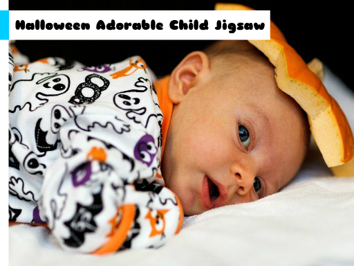 Play Halloween Adorable Child Jigsaw Now!