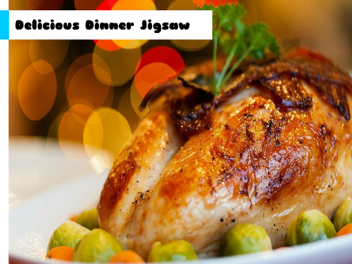 Play Delicious Dinner Jigsaw Now!