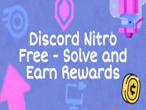 Play Discord Free Nitro Now!