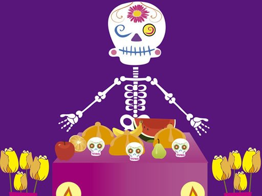 Play Skeleton Party Hidden Now!