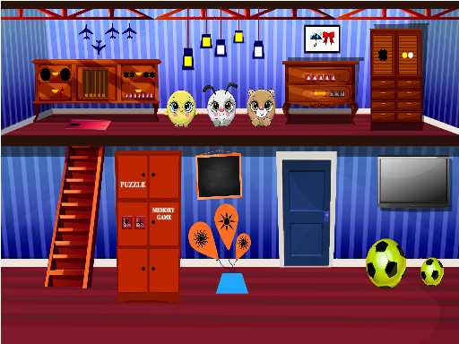 Play Slick House Escape Now!