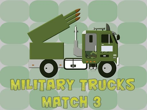 Play Military Trucks Match 3 Now!