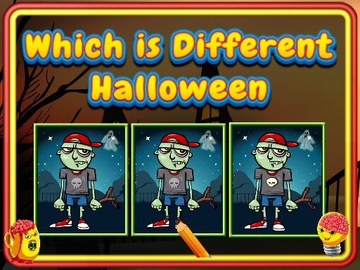 Play Which Is Different Halloween Now!