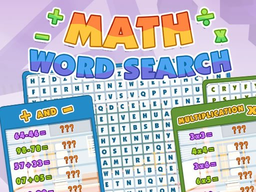 Play Math Word Search Now!