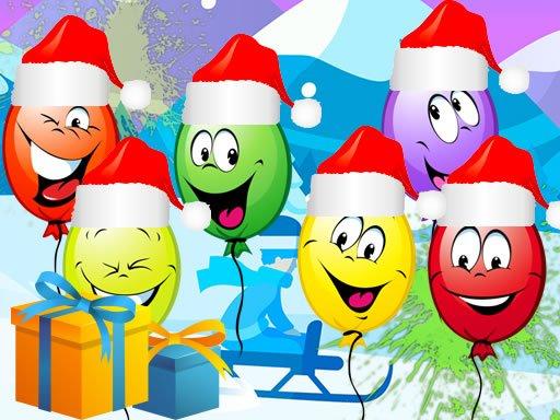 Play Christmas Balloons Bursting Now!