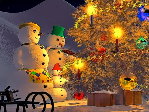 Play Snowman Family Time Now!