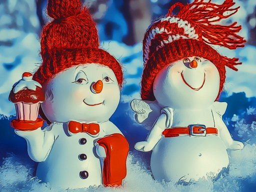 Play Snowman Couples Now!