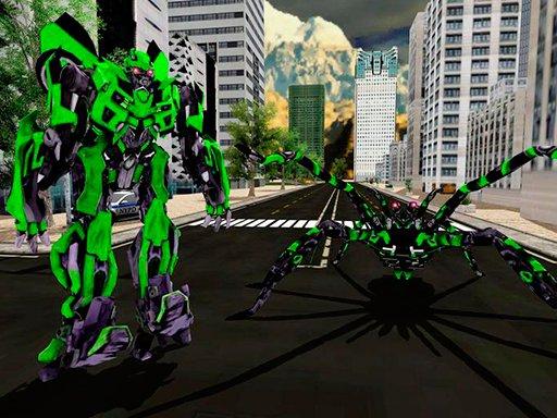 Play Spider Robot Warrior Web Robot Spider Now!