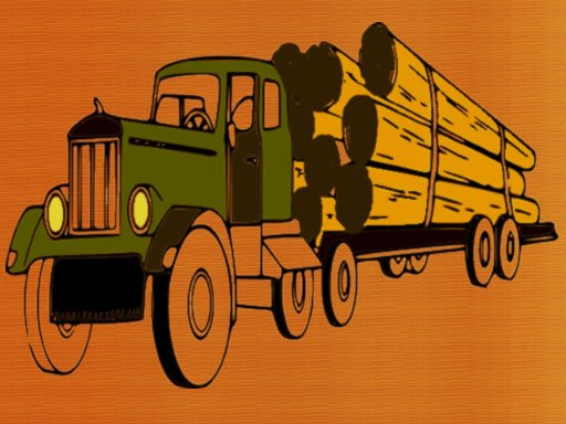 Play Logging Trucks Coloring Now!