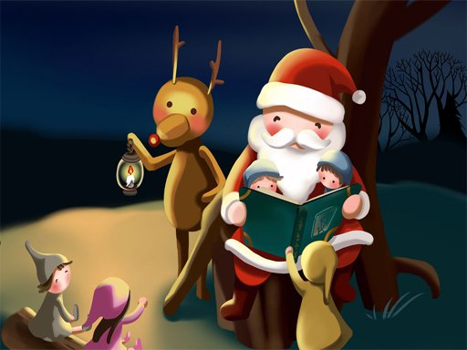 Play Merry Christmas Puzzles Now!