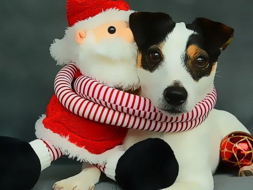 Play Funny Christmas Dogs Now!
