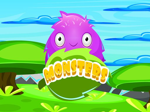 Play Monster Color Match Now!