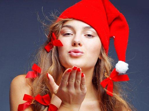Play Santa Beauty Jigsaw Puzzle Now!