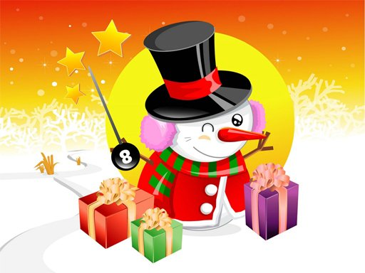 Play Christmas Vector Characters Puzzle Now!
