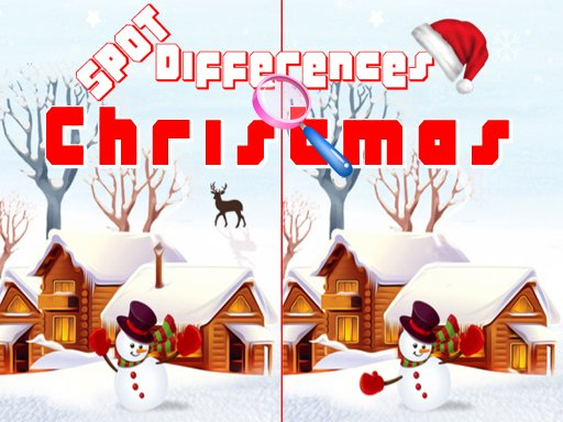 Play Christmas 2020 Spot Differences Now!