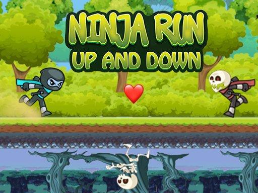 Play Ninja Run Up and Down Now!