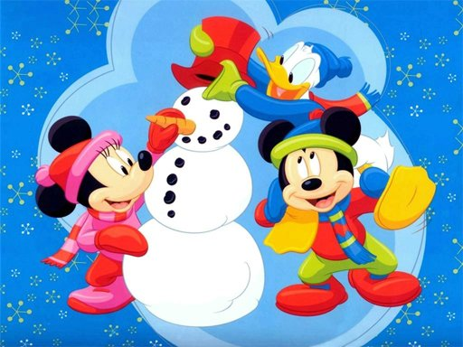 Play Disney Christmas Jigsaw Puzzle 2 Now!