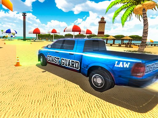 Play Coast Guard: Beach Car Parking Now!
