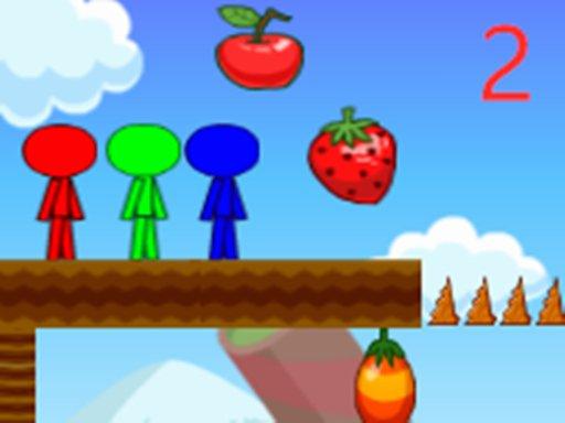 Play Stickman Bros In Fruit Island 2 Now!