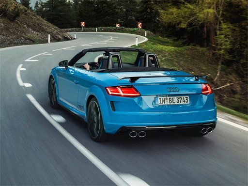 Play Audi TTS Roadster Puzzle Now!