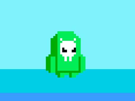 Play green alien fall guys Now!