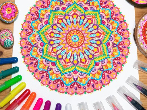 Play Mandala Pages Now!