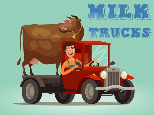 Play Milk Trucks Jigsaw Now!