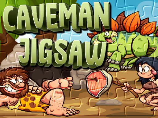 Play Caveman Jigsaw Now!