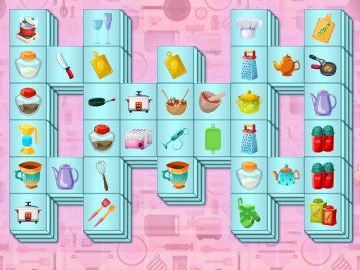 Play Kitchen Mahjong Now!