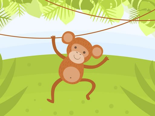 Play Funny Monkeys Coloring Now!