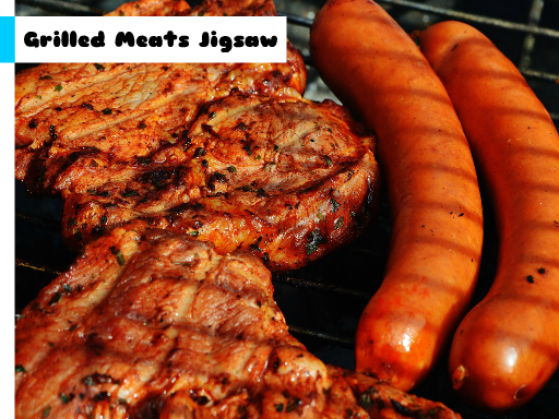 Play Grilled Meats Jigsaw Now!