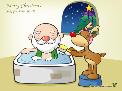 Play Funny Christmas Puzzle Now!