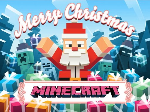 Play MineCraft Christmas Jigsaw  Puzzle Now!