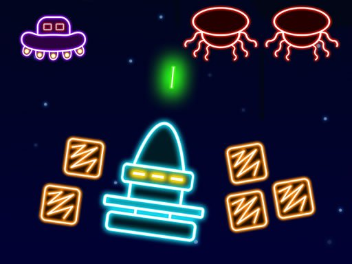 Play Neon Invaders Now!