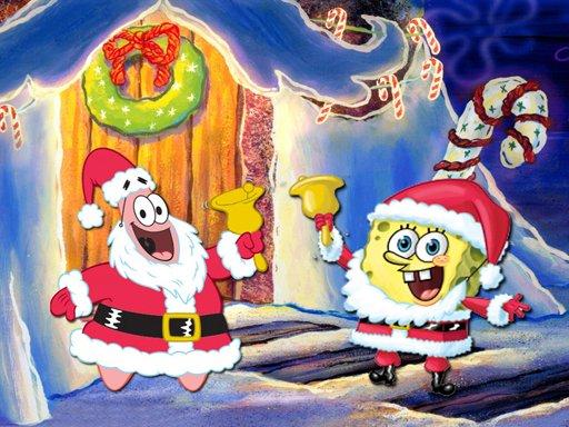 Play SpongeBob Christmas Jigsaw Puzzle Now!