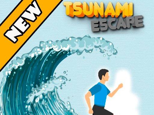 Play Tsunami Escape Now!