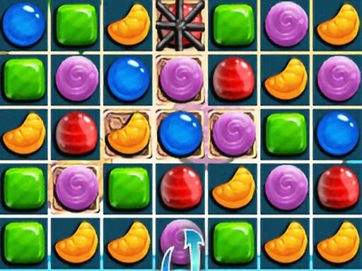Play Sweet Candy Match 3 HTML5 Now!