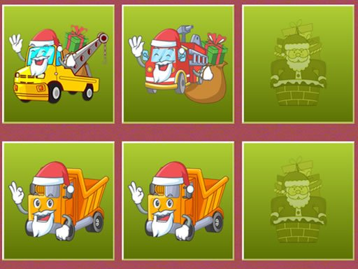 Play Christmas Trucks Memory Now!