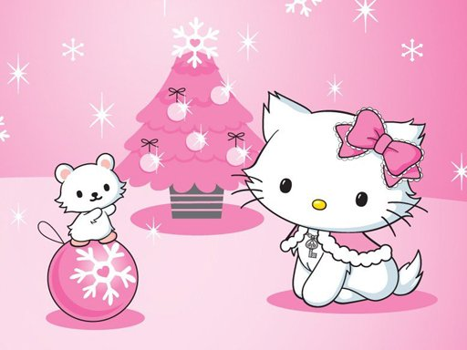 Play Hello Kitty Christmas Jigsaw Puzzle Now!