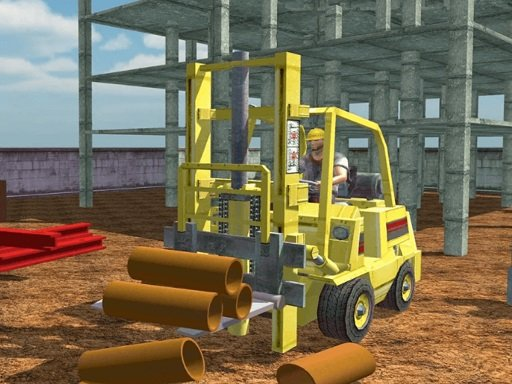 Play Forklift Drive Simulator Now!