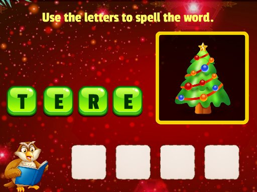 Play Xmas Word Puzzles Now!